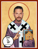 Tom Hardy Saint Celebrity Prayer Candle Gift