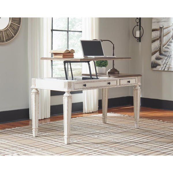 Ashley Realyn Home Office Lift Top Desk