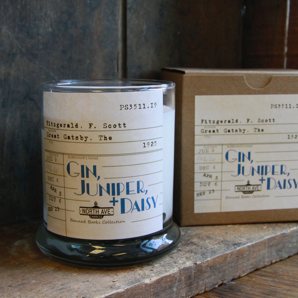 North Ave Candles - Literary Candles