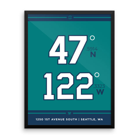 Seattle Mariners <br> Framed Poster