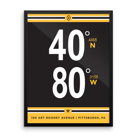 Pittsburgh Steelers <br>Framed Poster