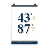 Milwaukee Brewers <br> Unframed Poster
