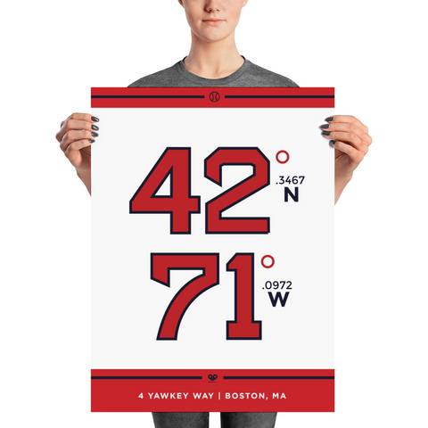 Boston Red Sox <br> Unframed Poster
