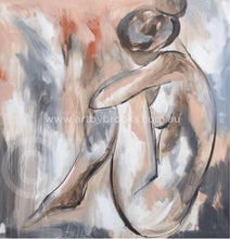 Blush nude - Art print