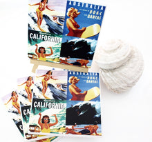 Vintage Surfing Collage