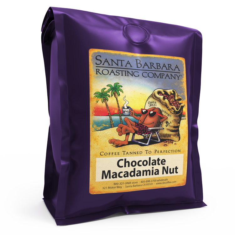 Chocolate Macadamia Nut - Coffee - Santa Barbara Roasting Company