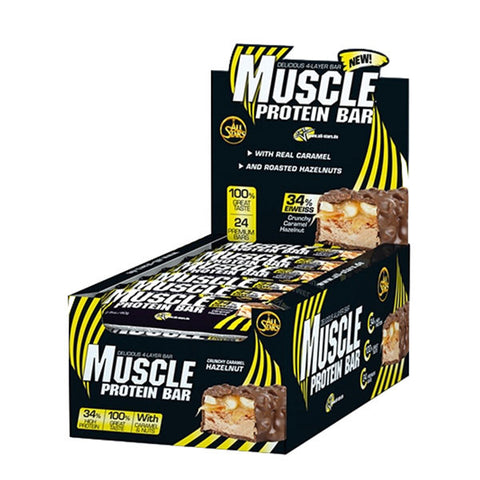 MUSCLE PROTEIN BAR | ALL STARS | Outletintegratori.com