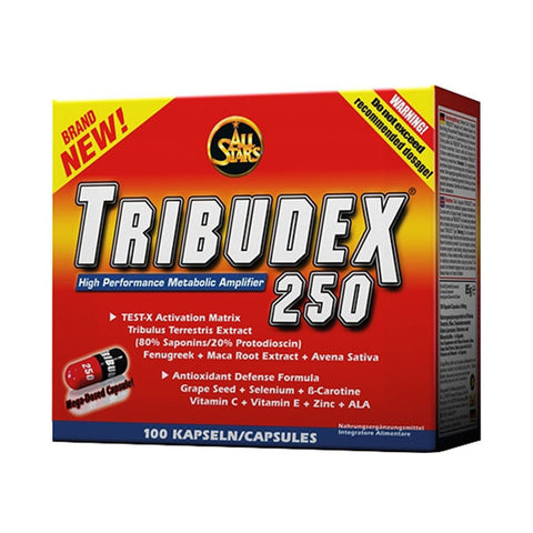 TRIBUDEX 250 | ALL STARS | Outletintegratori.com
