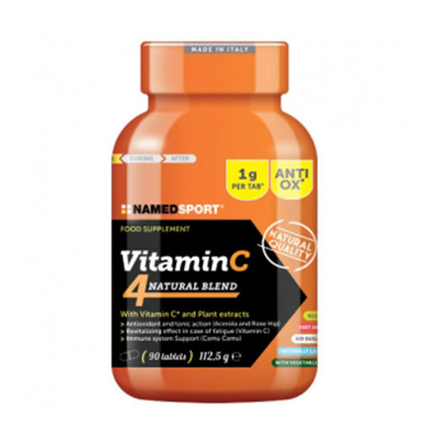 VITAMIN C 4NATURAL BLEND 90 Cpr | NAMED SPORT | Outletintegratori.com