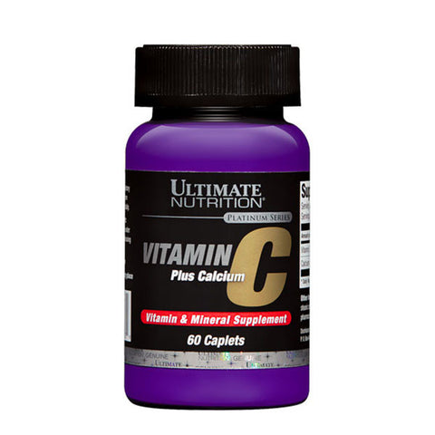 VITAMIN C PLUS CALCIUM | ULTIMATE NUTRITION | Outletintegratori.com