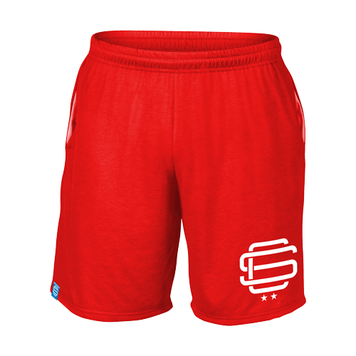 SqC Red Performance Shorts