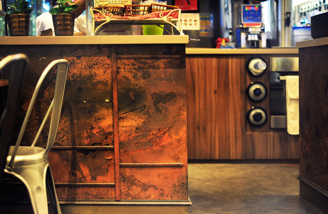 Rusted Metal Effect