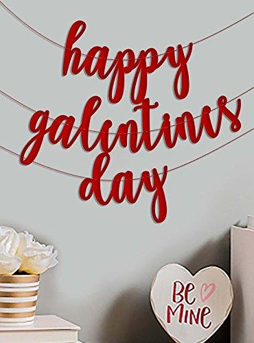 Valentines Day Decorations  Valentines Day Party Favors  VALENTINE Banner Bunting Garland  Valentine Decor Valentine Party Banner