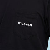 Wingman Pocket Tee - Black