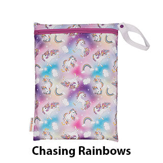 On the Go Wet Bag Chasing Rainbows