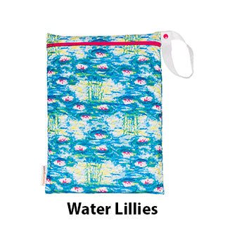 On the Go Wet Bag Water Lillies