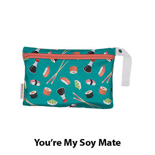 Smart Bottoms Small Wet Bag You're My Soy Mate