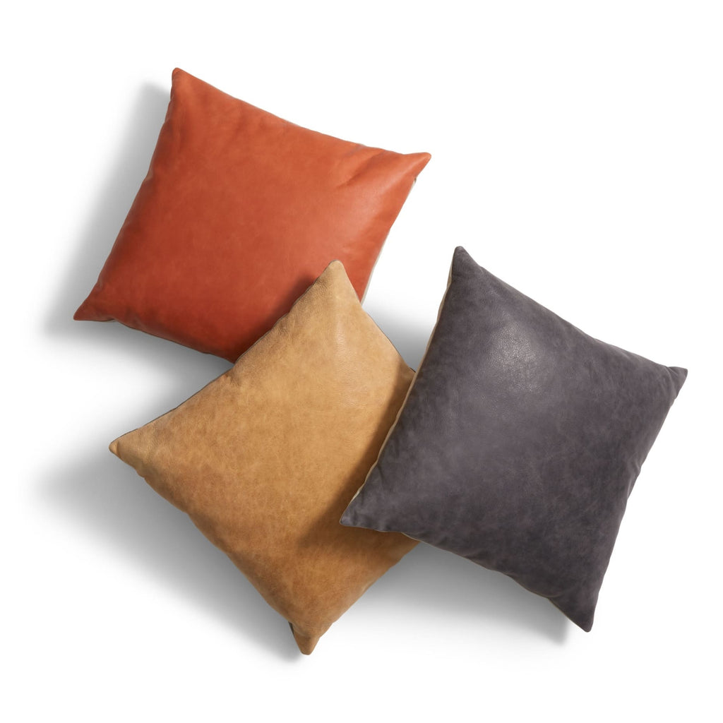 Blu Dot Signal Leather Pillow - Matthew Izzo Home