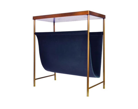 Worlds Away Mayfair Magazine Rack - Matthew Izzo Home