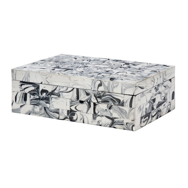 Worlds Away Mullen Decorative Box - Matthew Izzo Home