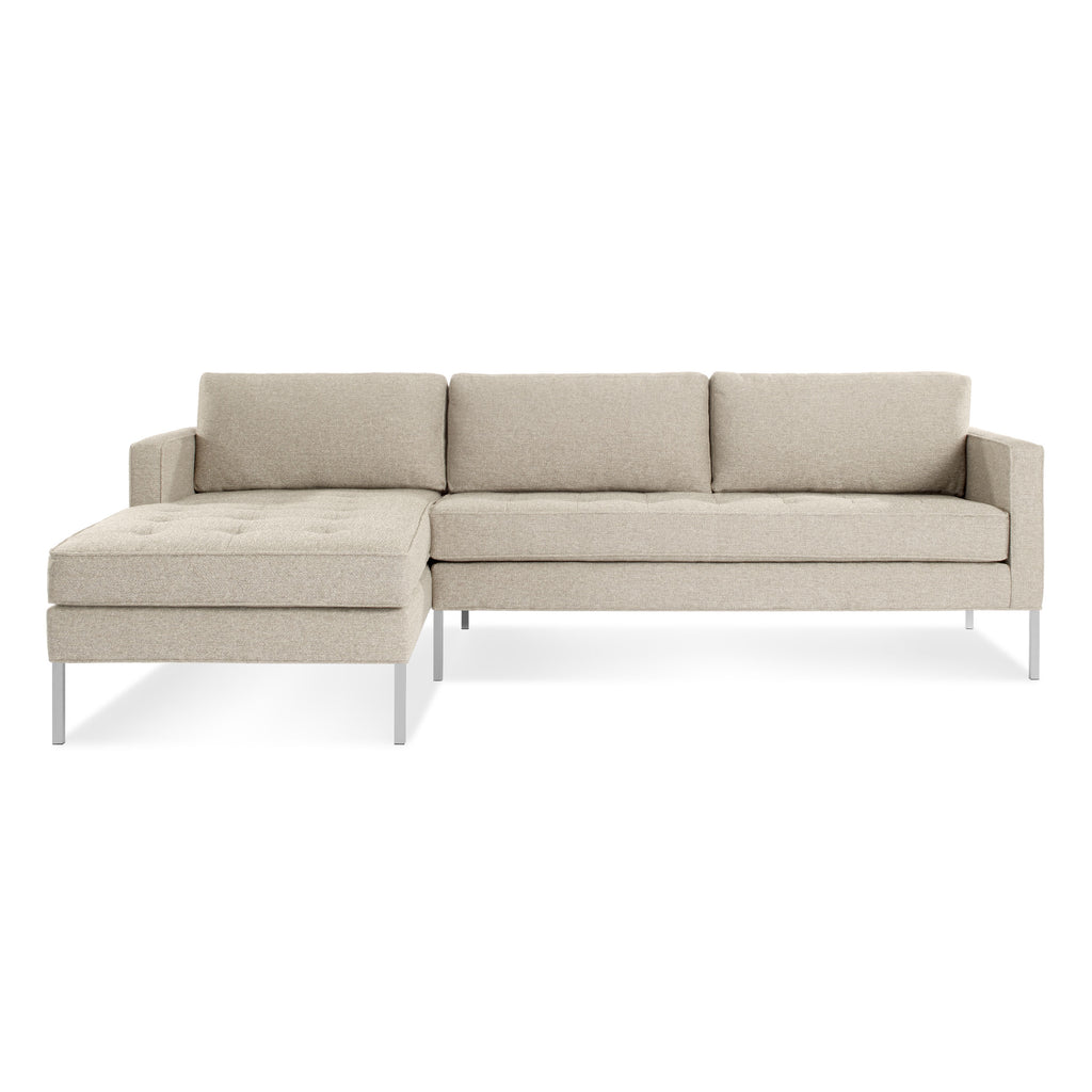 Blu Dot Paramount Sofa with Left Arm Chaise - Matthew Izzo Home