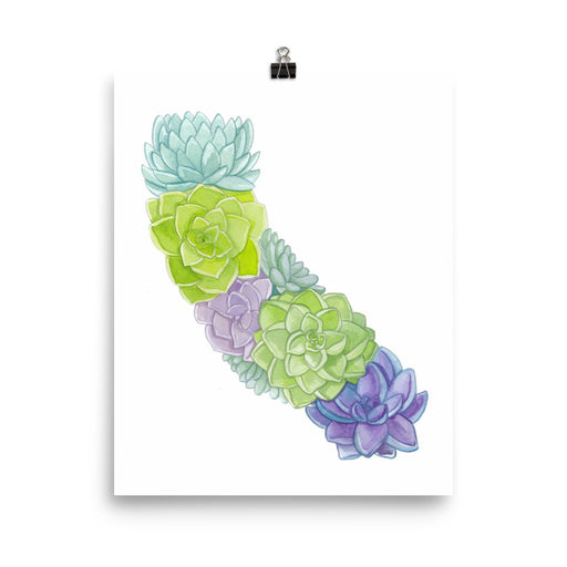 California Succulents Print