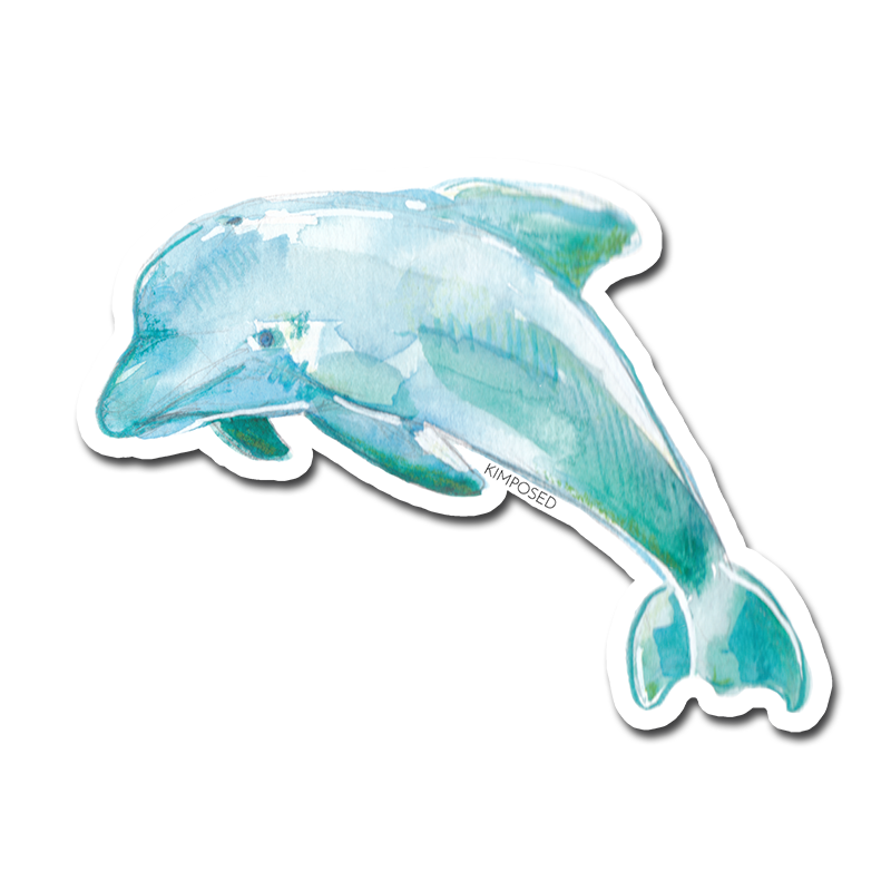 Dolphin Sticker