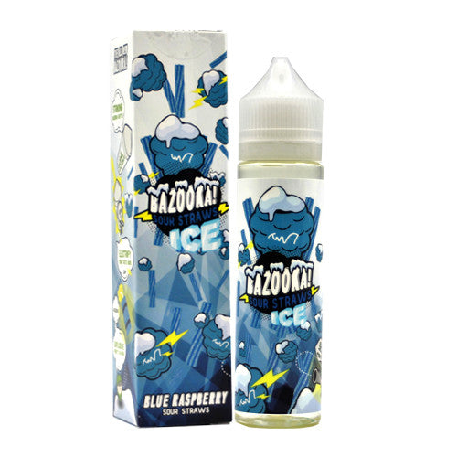 Bazooka Sour Straw (BLUE RASPBERRY ICE) 60ML