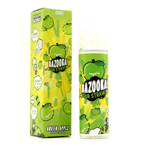 Bazooka Sour Straws (APPLE SOUR STRAWS) 60ML