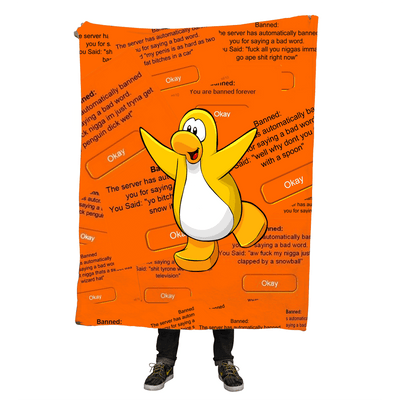 Blankets - Club Penguin Bans Throw Blanket