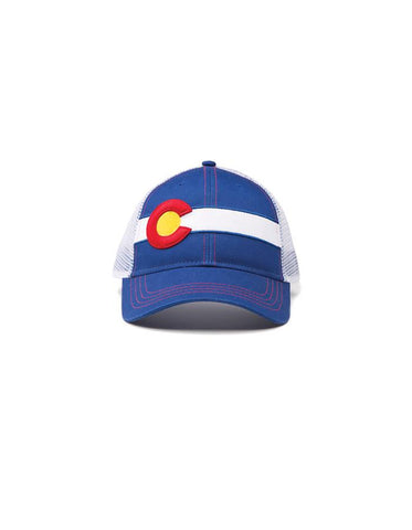 Republic Colorado Flag Trucker Hat In Classic