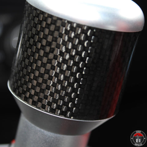CARBON FIBER MANUAL SHIFT KNOB