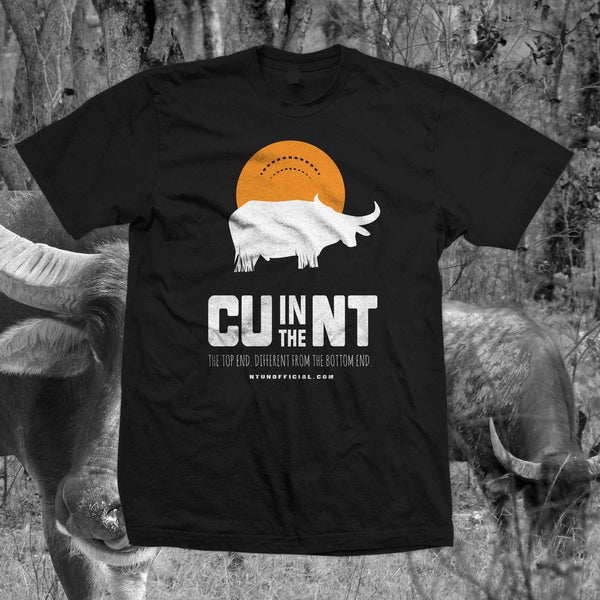 CU in the NT - Black Buffalo Tee