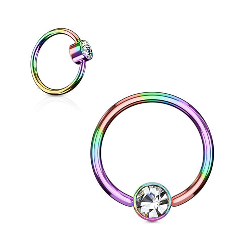 14K Gold Captive Bead Belly Piercing Jewellery