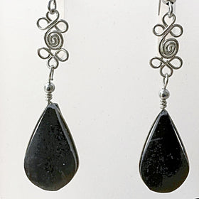 Black Onyx Boho Gemstone Earrings - New Earth Gifts