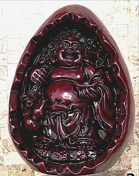 Buddha Smiling Within an Egg Signifying Re-birth - New Earth Gifts
