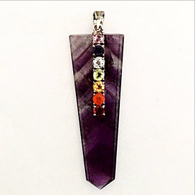 Amethyst Chakra Pendant - new earth gifts