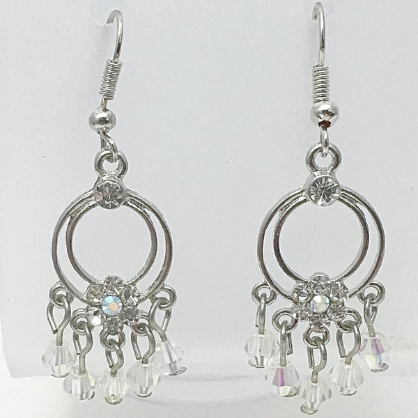 Crystal Drop Dangle Earrings - New Earth Gifts