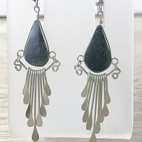 Black Onyx Boho Earrings -New Earth Gifts