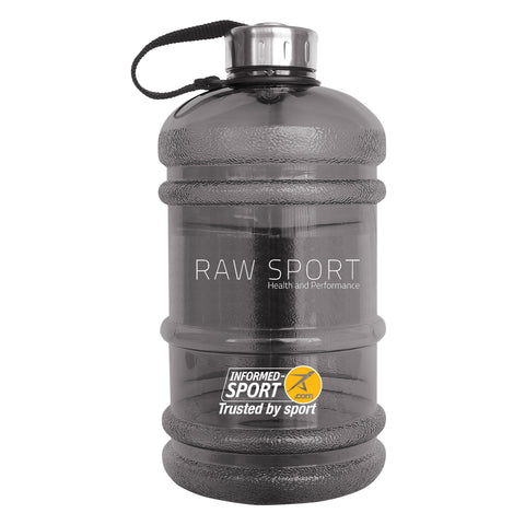Raw Sport 2ltr Water Bottle (BPA Free)