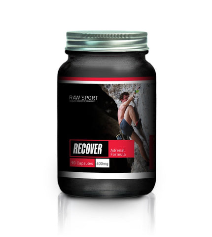 Raw sport recover adrenal formula 90 capsules