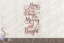 Christmas Bundle SVG, 9 Digital File, SVG, DXF, EPS, Png, Jpg, Cricut, Silhouette, Print File