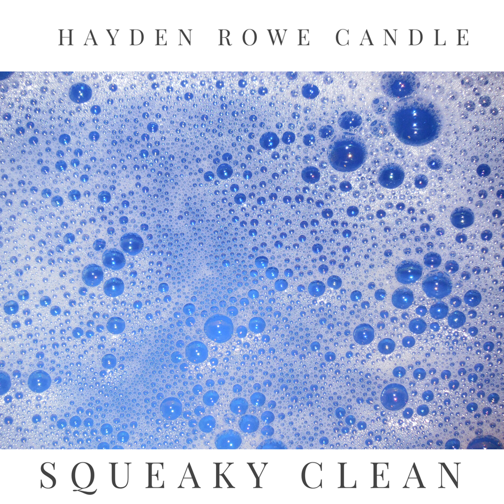Squeaky Clean Scented Wax