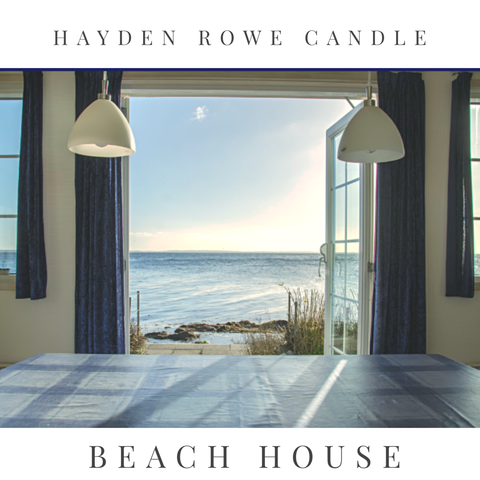Beach House Scented Wax
