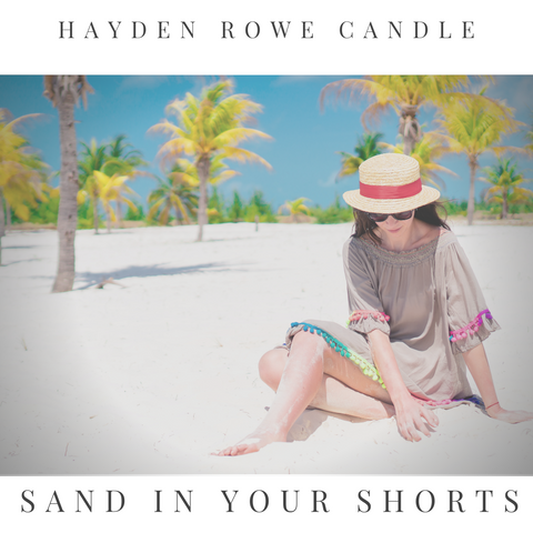 Sand in your Shorts Scented Wax