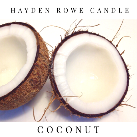 Coconut Scented Wax