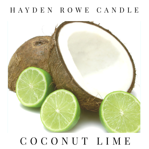 Coconut Lime Scented Wax