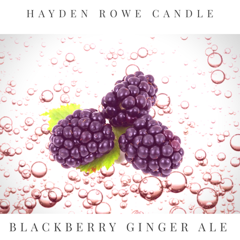 Blackberry Ginger Ale Scented Wax