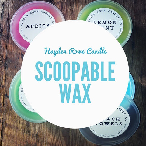 Scoopable Wax