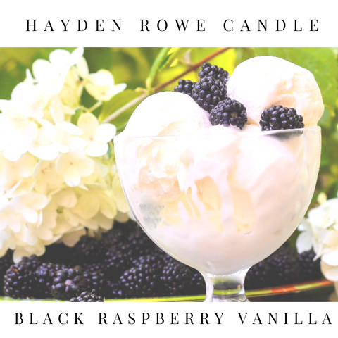 Black Raspberry Vanilla Scented Wax
